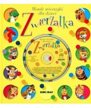 Zwierzątka wesołe wierszyki dla dzieci + CD