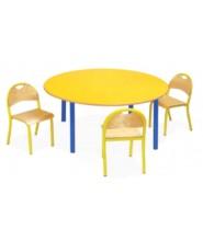 Stół Bambino SL-R okrągły wielorozmiarowy 1-4