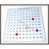 Tabliczka mnożenia, magnetyczna w aluminiowej ramie